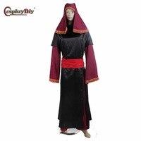Cosplaydiy Star Wars Cosplay Visas Cosplay Costume Adult Halloween Outfit Clothing Custom Made D0626