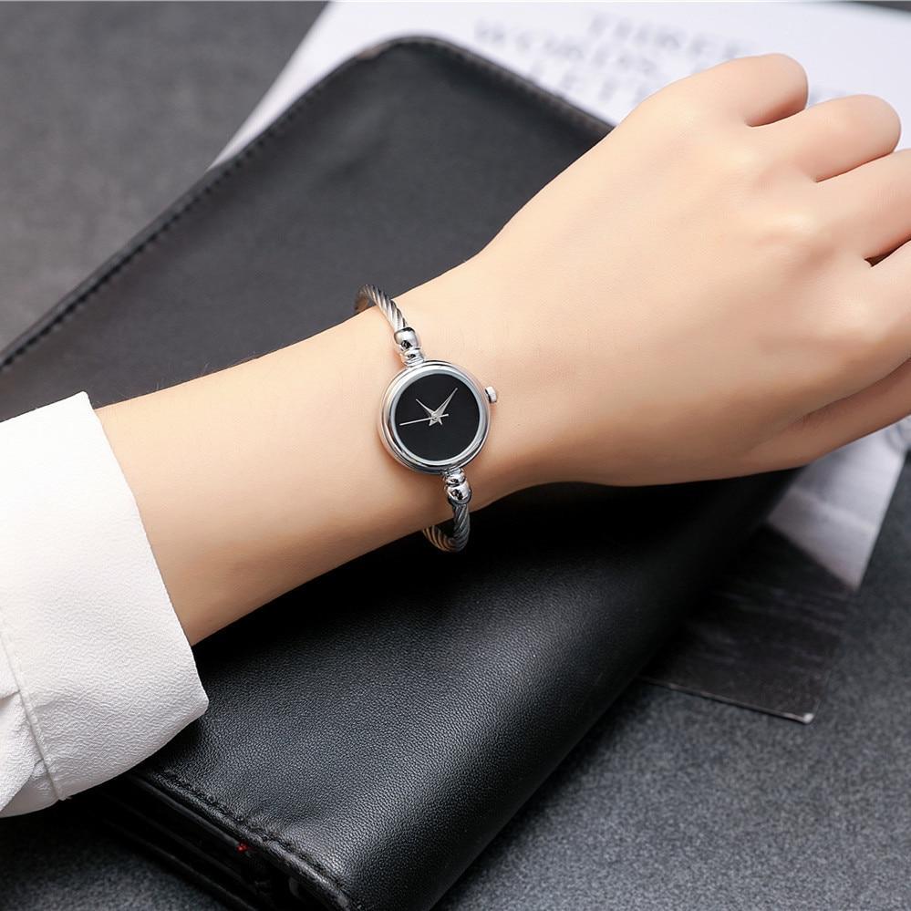 2017 BGG Top Nowa skórzana Lady Twórczy zegarek w stylu - Zegarki damskie - Zdjęcie 3