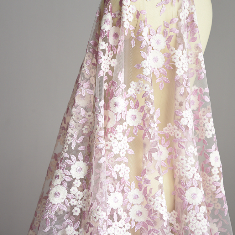 Wedding Gown Fabric Guide: Aliexpress.com : Buy 1 Meter 135cm Width Rose Embroidery