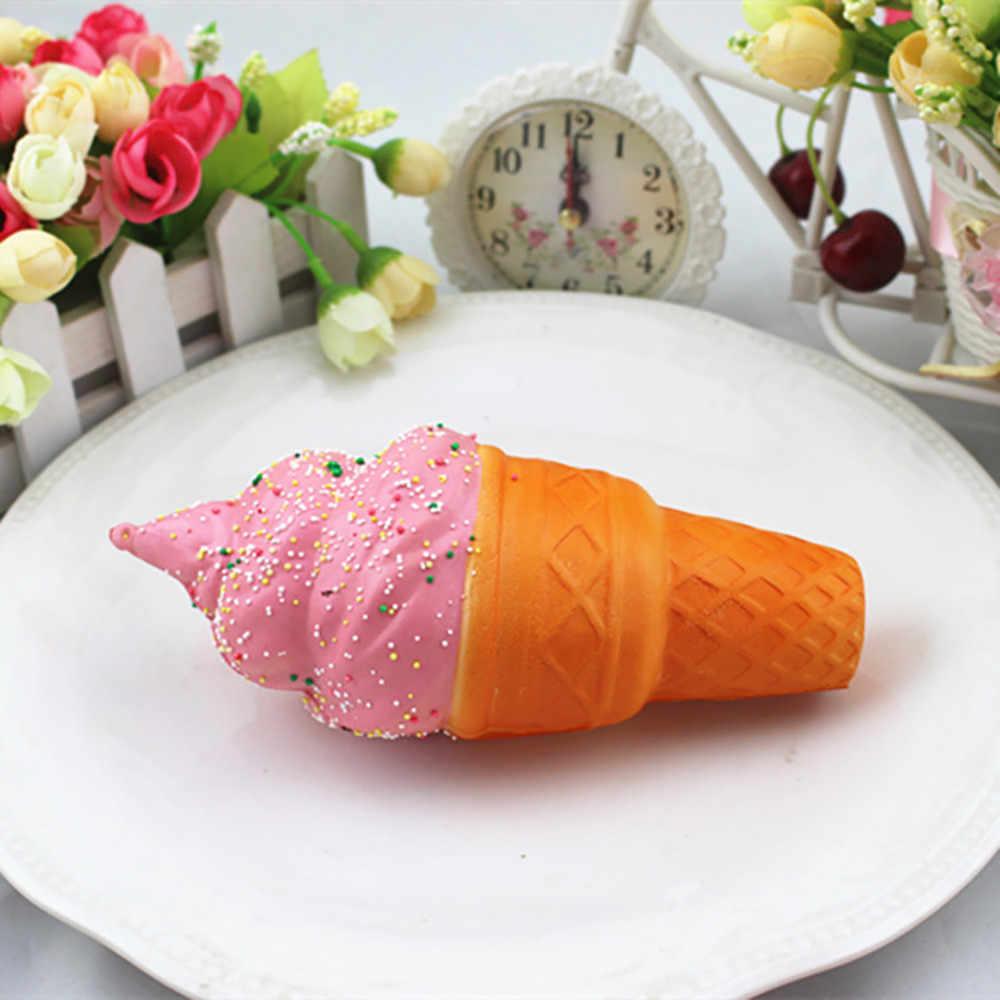Kawaii Squishies Antistress Ice Cream Novità Lento Aumento Squeezable Squish Giocattoli Divertenti 30S8104 trasporto di goccia