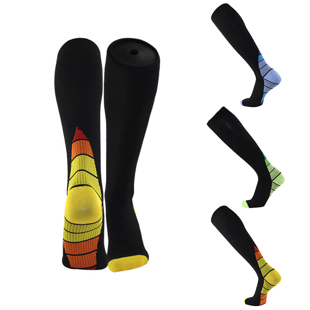 Professional Compression Sport Socks Men Women Breathable Travel Activities Leg Support Stretch Cycling Running Football Socks