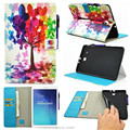 Luxury Magnetic Cartoon Series PU Leather Stand Case Cover For Samsung Galaxy Tab E 9.6 T560 T561 Tablet PC Cover+Film+Pen+OTG