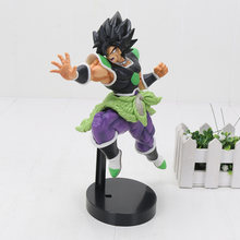22cm Dragon Ball Z SUPER ULTIMATE SOLDIERS Broly Broli THE MOVIE Broly PVC Action Figure Toys(China)