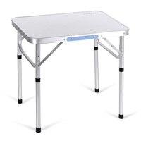 ANCHEER Portable Folding Table Outdoor Camping Aluminum Table Garden Pinic Desk Drop Shipping