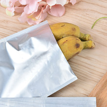 10pcs 12*18cm Silver Aluminum Foil Mylar Bag Vacuum Sealer Bags Food Package Storage Bag Keep Food Fresh Home Storage Saver(China)