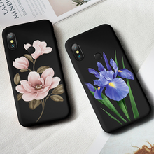 Flower Case For Xiaomi Mi A2 Silicone Cover Shockproof Bumpers Lite 8 9 Cases