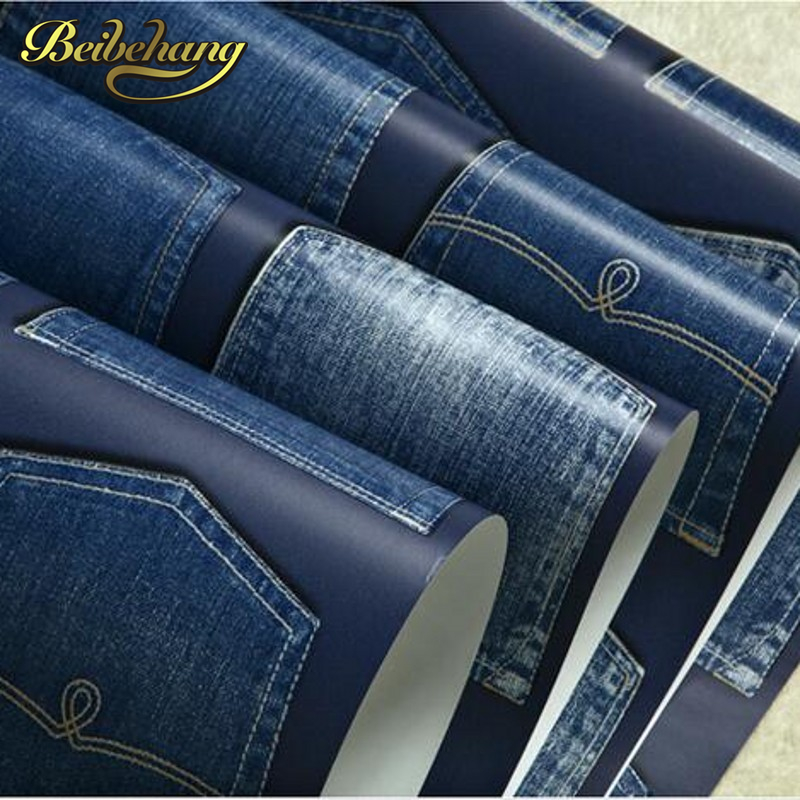 beibehang British style minimalist green pure paper wallpaper retro fashion jeans childrens room shop for boys bedroombeibehang British style minimalist green pure paper wallpaper retro fashion jeans childrens room shop for boys bedroom