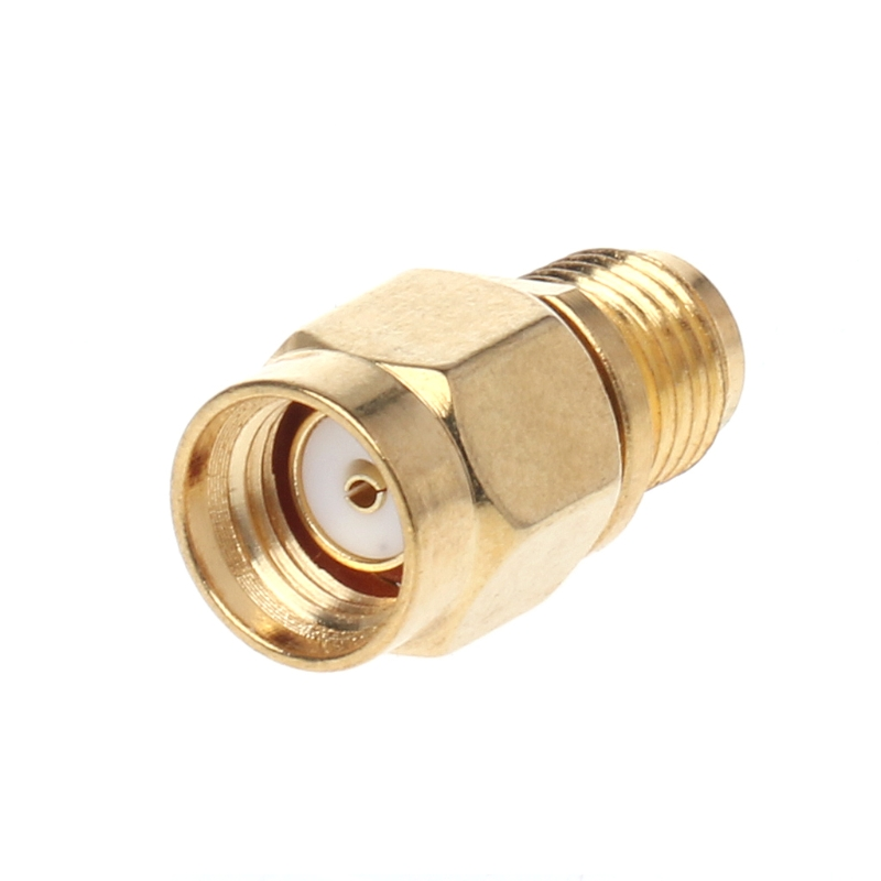 RP-SMA Male Plug To SMA Female Jack Straight RF Adapter Coaxial Connector Converter L15 adapter ts 9 male plug to sma female jack rf connector straight gold plated new