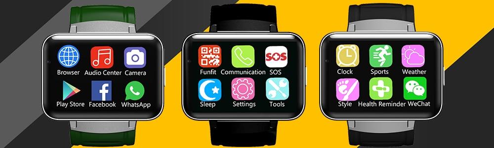 Товар Waterproof Smart Watch Phone Android Wristwatch Q18
