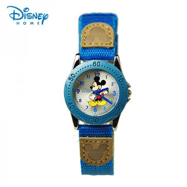100% Genuine Disney kids cartoon watch Mickey mouse Brand watches luxury Quartz watch men Montre Enfant relogio feminino 11101