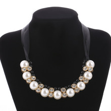 Best Cheap Fashion Simulated Pearl Necklaces For Women Collares