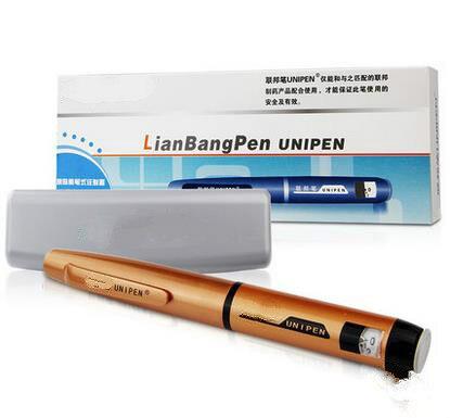 The new 2017 high quality household portable Insulin pen painless Ustar spirit insulin insulin pen injector painless diabetes