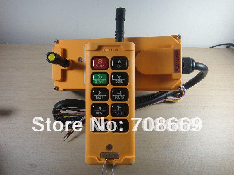 10 Channels Control Hoist Crane Radio Remote Control System
