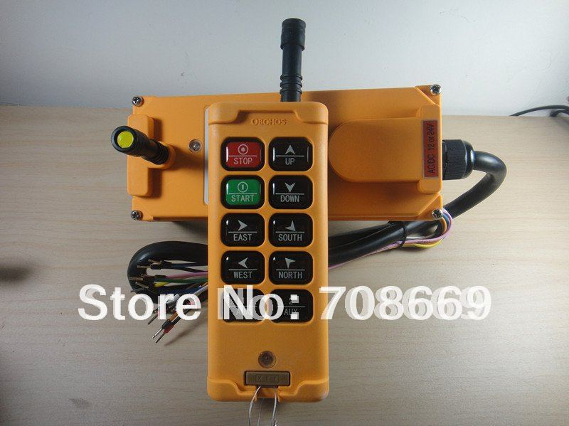 10 Channels Control Hoist Crane Radio Remote Control System-in Switches from Lights & Lighting
