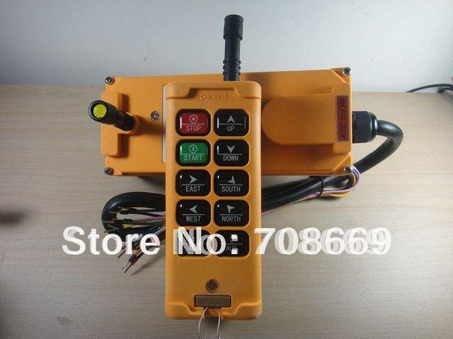 HS 10 10 チャンネルコントロールホイストクレーンラジオリモートコントロールシステム