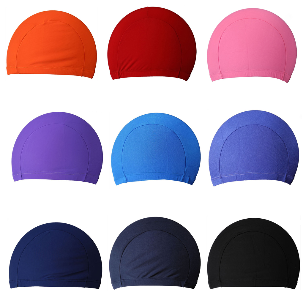 Free Size Fabric Protect Ears Long Hair Sports Siwm Pool Swimming Cap Hat Sporty Ultrathin Bathing Caps For Adults Men Women недорго, оригинальная цена