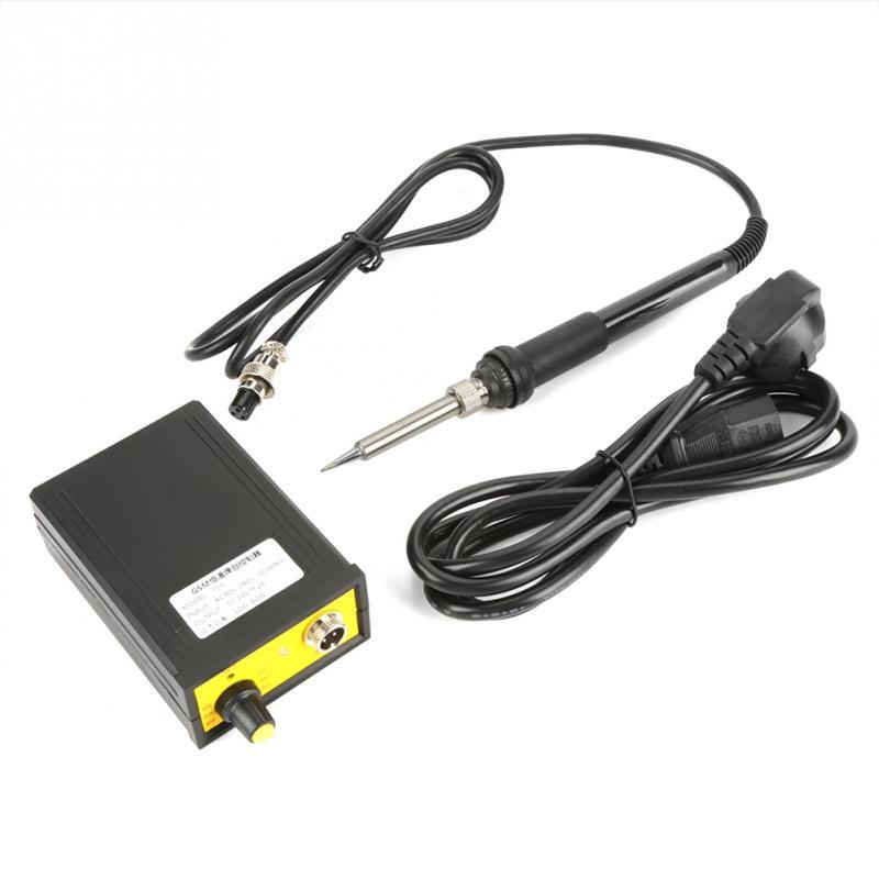 GSM-T19 60W Electric Soldering Station Adjustable Temperature Soldering Station Soldering Handle with Soldering Stand 110V220V