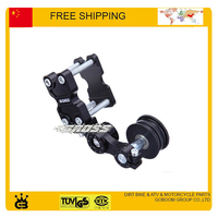 Aluminium Chain Tensioner 110cc 125cc 250cc motorcycle Dirt Pit Bike ATV ybr yzf crf parts accessories free shipping