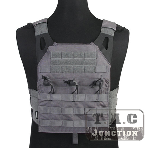 Emerson Tactical Jumpable Plate Carrier EmersonGear JPC Assault Lightweight  Combat Vest Body Armor Adjustable MOLLE+ Plates 08104505d67