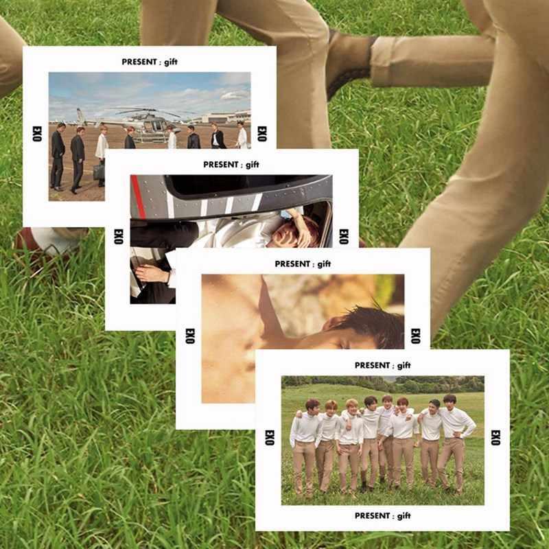 Kpop EXO הוואי קיץ PVC ברור תמונה כרטיס SEHUN BAEKHYUN CHANYEOL Photocard