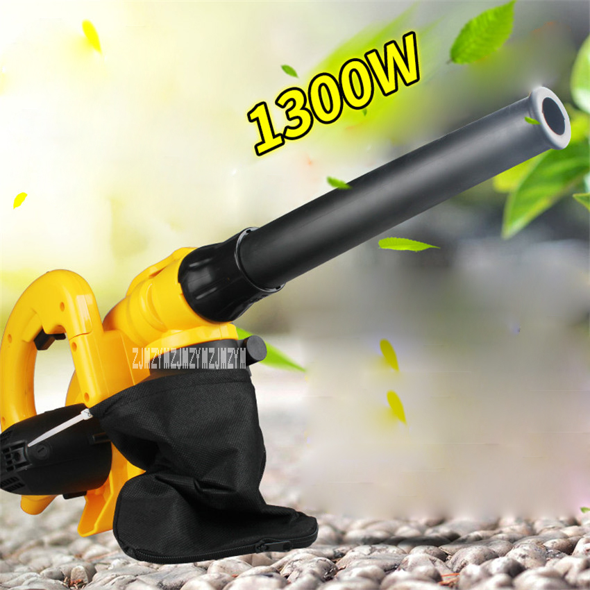 New KD0831 1300W Industrial Speed Control Suction And Blow Dual-purpose Dust Collector Blower Dust Cleaning Tools 220v 1800r/min 15l industrial dust collector 1200w electric dust collector for dry and wet