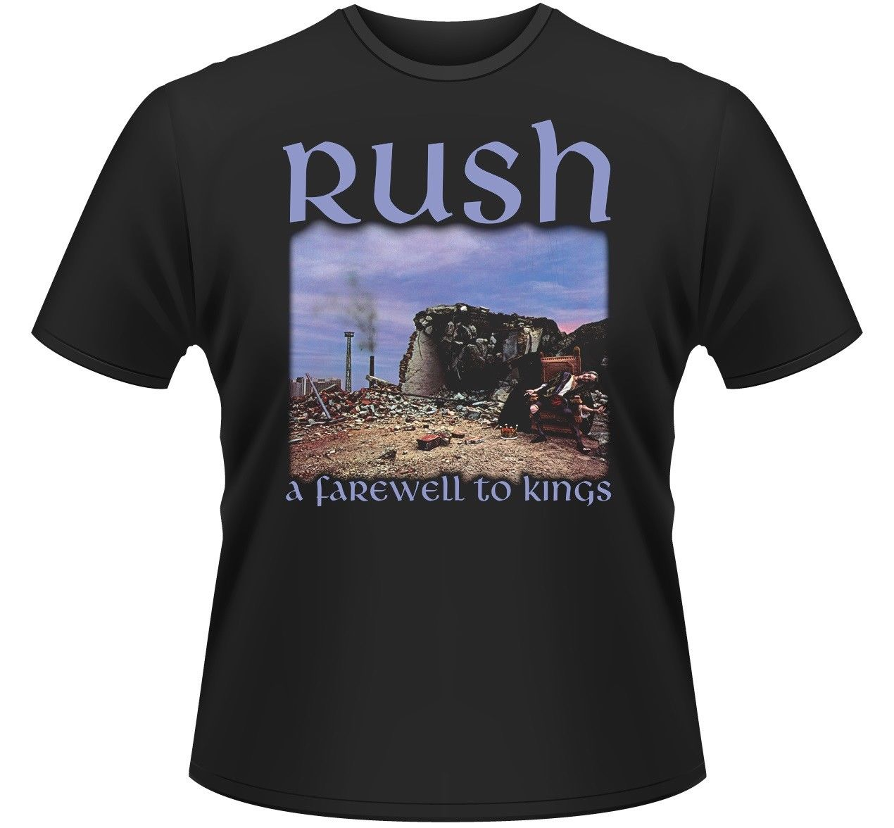 RUSH A FAREWELL TO KINGS T-SHIRT - NUOVO E ORIGINALE New 2018 Cotton Short-Sleeve T-Shirt