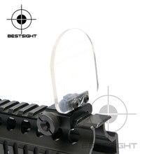 Воздух Мягкая красная точка прицел прозрачный пуленепробиваемая линза протектор складной стол для 551 552 553 556 557 558