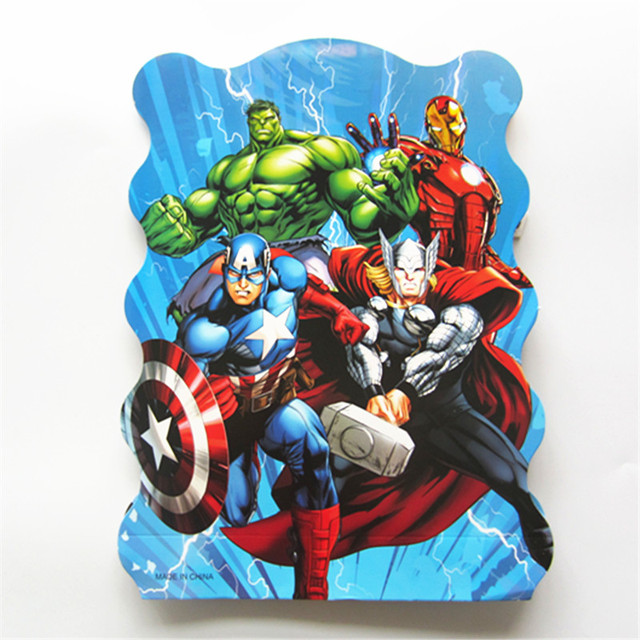 Pz lotto the avengers cartone animato tema carta pinata