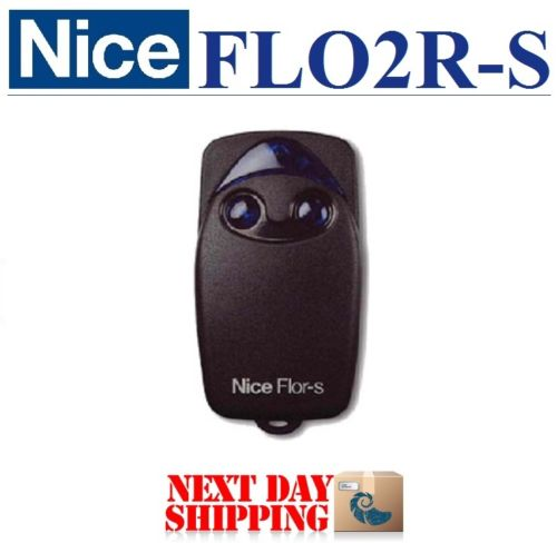 high quality 433.92mhz Nice Flor-s rolling code remote for garage door universal remote