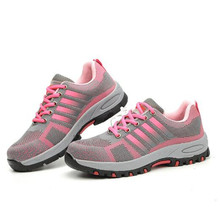 Breathable Women Safety Shoes Women's
