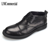 new spring and autumn men's leather shoes leisure ,Men Dress Shoes,Summer Oxfords Spring Men Flats Fashion High Quality Genuine whensinger 2018 new spring new shoes buckle strap flats genuine leather fashion design 8567