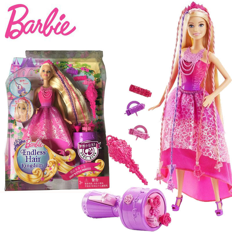 Barbie Original Doll Long Hair Prince American Girl Dolls With DKB62 Babies Boneca Brinquedos For Children Birthday Gift original barbie dolls skipper dolphin magic adventure doll with clothin babies boneca brinquedos toys for children birthday gift