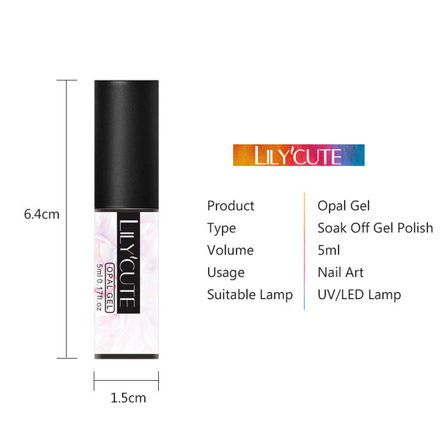 LILYCUTE 5ml Opal Gel