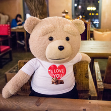 Talking Ted speaking plush toys Teddy Electronic stuffed animals  for children girls boys baby Tiara