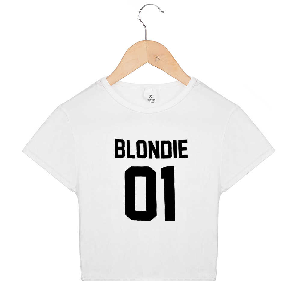 a8fa8ac1e27 ... Matching Best Friends Sister Cropped Tumblr T Shirts Cotton Sexy Tshirt  Women Girls Brownie Blondie 01
