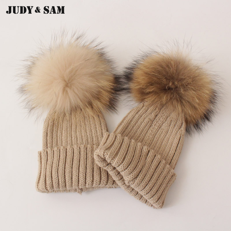 6918e1771dbf9 Detail Feedback Questions about New 2015 Baby Kids Snow Hat Winter Wool  Knit Beanie Raccoon Hats For Children Apparel Accessories Fashion Hat  Christmas Gift ...