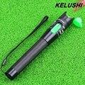 KELUSHI Metal Cabo De Fibra Óptica Tester Fonte de Luz Vermelha 20 mw Fibra Óptica Localizador visual de Falhas 20 km com 2.5mm Connecotor