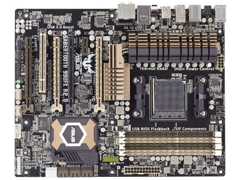 Free shipping original motherboard for ASUS SABERTOOTH 990FX R2.0 DDR3 Socket AM3+ USB2.0 USB3.0 32GB  Desktop motherboardFree shipping original motherboard for ASUS SABERTOOTH 990FX R2.0 DDR3 Socket AM3+ USB2.0 USB3.0 32GB  Desktop motherboard