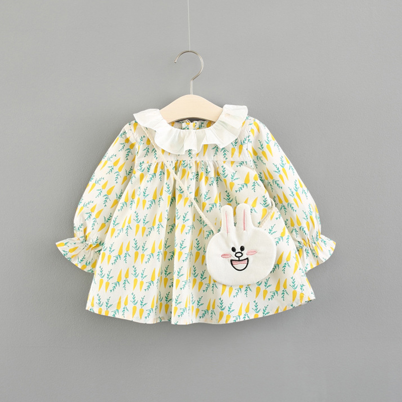 newborn Dress infant baby clothes 2018 summer spring new dress for girl clothing princess Casual cotton dresses Kids girls wear