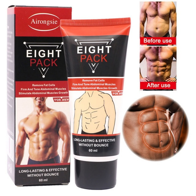 Powerful Abdominal Muscle Cream Stronger Muscle Strong Anti Cellulite Burn Fat Product Weight Loss Cream Men 60ml 2