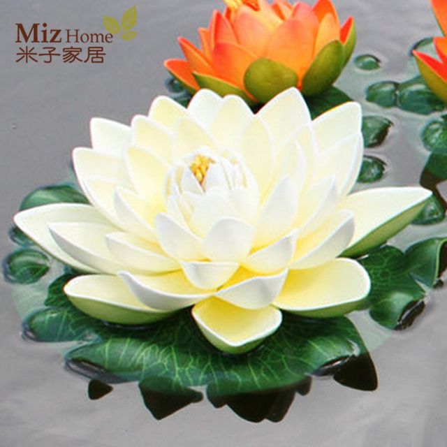 Eva Material Imitation Jewelry Simulation Flower Lotus Water Lily