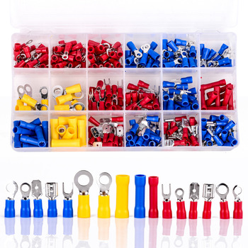 300pcs new assorted insulated electrical wire crimp terminals connector butt set with box.jpg 350x350