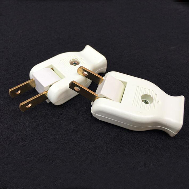 5pcs/lot Electrical Socket Two wire Turn The Plug Creative 180 ...