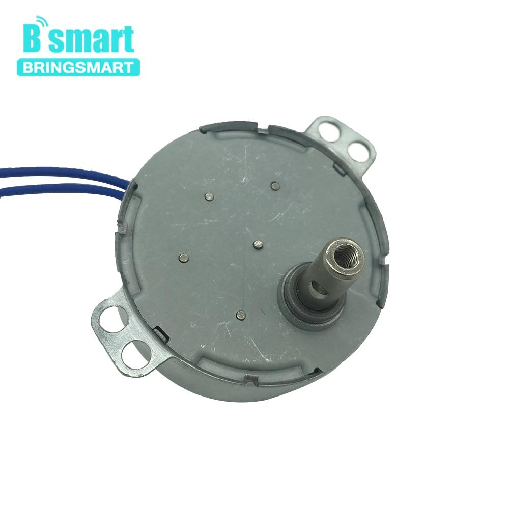 Bringsmart TYC-50 AC Geared Motor 110V 220V 1.4 2 4 8 10 15 20 30 48 58rpm Oscillating Fan Motor Microwave Oven Mini AC Motor недорго, оригинальная цена