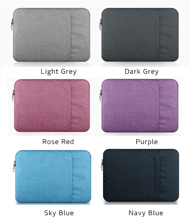 """2019 New Brand aigreen Sleeve Case For Laptop 11"""",13"""",14"""",15,15.6 inch,Bag For Macbook Air Pro 13.3"""",15.4"""",Free Drop Shipping 8"""