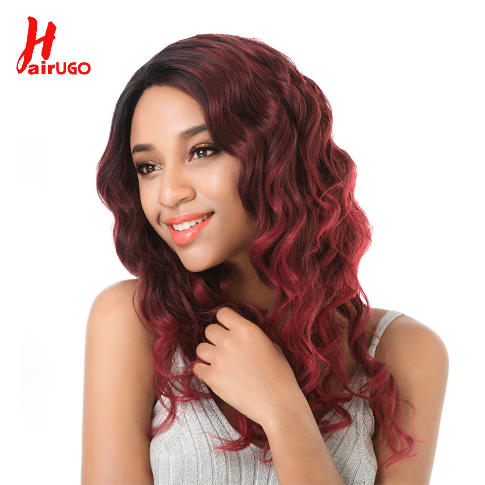 Lace Closures & Frontals Amicable Hairugo Lace Front Human Hair Wig For Women Ombre Non Remy Brazilian Hair Body Wave Wig With Baby Hair Natural Hairline Full End