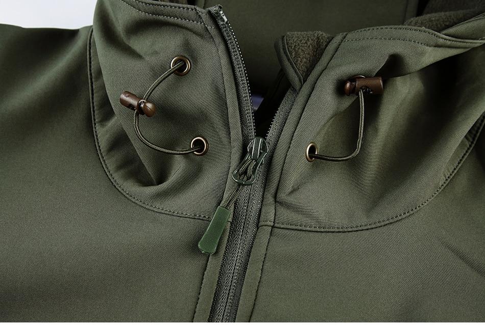 S.ARCHON Shark Skin Soft Shell Tactical Military Jacket Men Fleece Waterproof Army Clothing Multicam Camouflage Windbreakers Men 17
