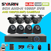 8 Channel 2 0MP CCTV System HD AH Home Safety 8CH Full 1080P DVR 2500TVL 1080P