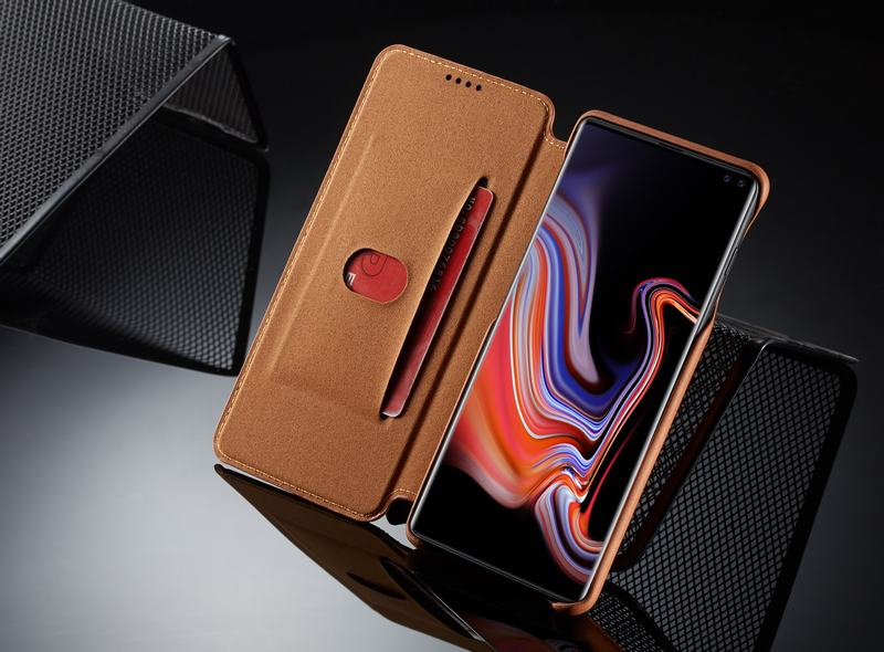 Samsung Galaxy S10 Leather Wallet Phone Case