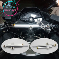 Free shipping ! Motorcycle FOR Steering Damper fits for YZF1000 R1 YZF600 R6 XJR400 S1000 S1000RR YZF R3 R25 MT 03 FZ1 FZ8 FZ6
